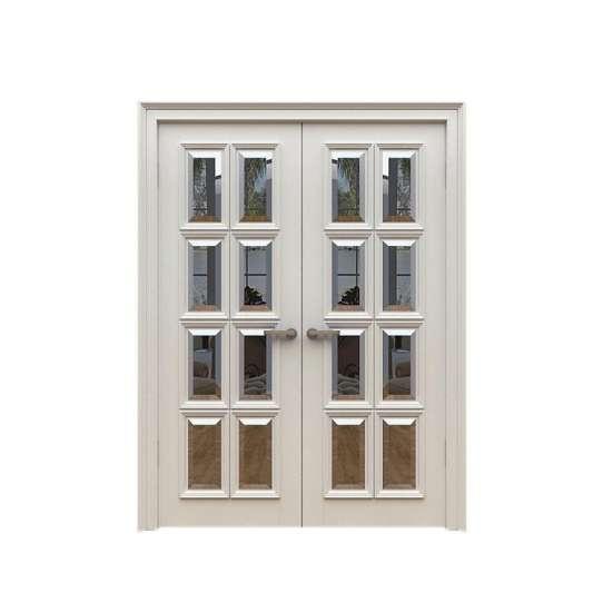 China WDMA main double door wooden Wooden doors