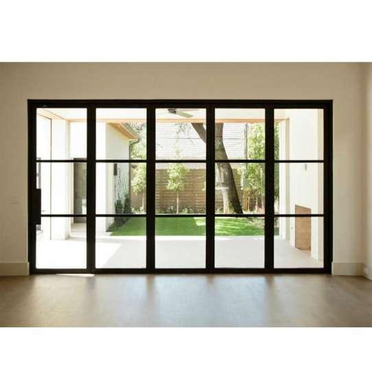 China WDMA Good Quality Bifold Patio Aluminium Door Custom Interior Kitchen Folding Doors French Door