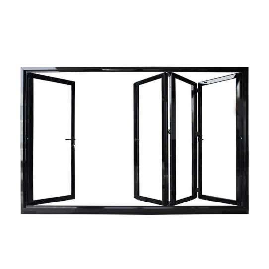 China WDMA Large Folding Glass Doors