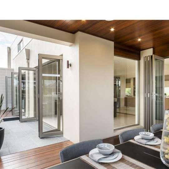 China WDMA Aluminium Folding Doors