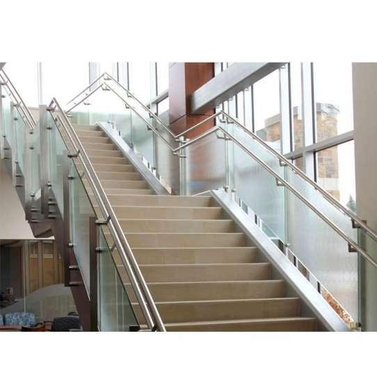 China WDMA Interior Balcony Parapet Glass Railing Design Pictures Price