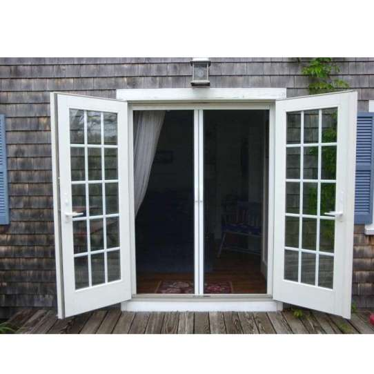 China WDMA Oval Glass Door