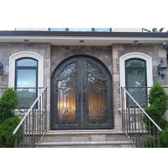 China WDMA Fire Proof Glass Door
