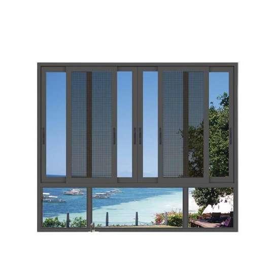 WDMA Italian Interior Mechanical Glass Window Shutter