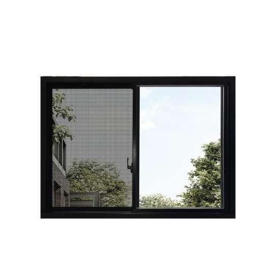 WDMA Kenya Aluminum Profile Sliding Glass Window And Door With Mosquito Screen