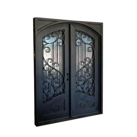 WDMA iron folding door Steel Door Wrought Iron Door