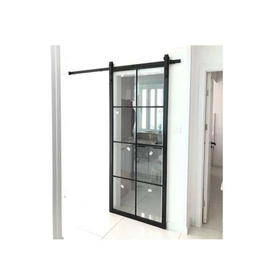 WDMA Three Panel Sliding Glass Door