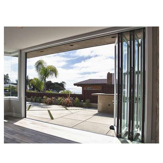 China WDMA Luxuary Folding Glass Door