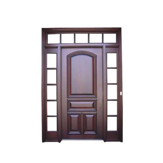 China WDMA Luxury Doors Solid Wood Main Entrance Wooden Doors Designs