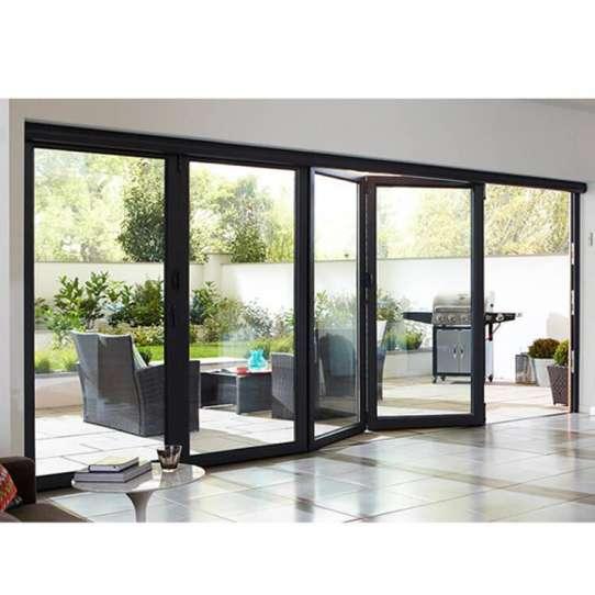 China WDMA Folding Glass Doors Dp50