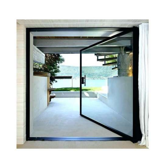 WDMA Modern Aluminium Glass Pivot Front Entry Doors Designs For House