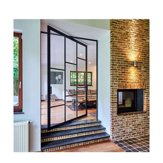 China WDMA Pivot Doors