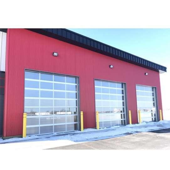 China WDMA Folding Glass Garage Door