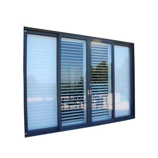WDMA Tempered Glass Sliding Door