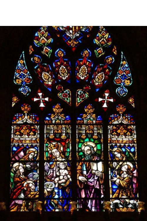China WDMA Church Window