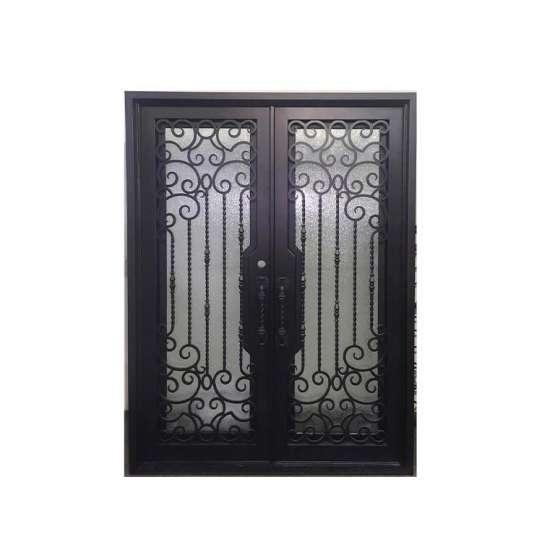 WDMA iron door with net