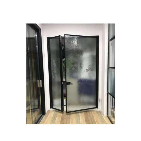 WDMA Flush Door Design With Glass
