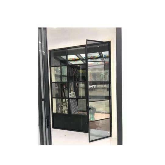 China WDMA Aluminum French Door Exterior