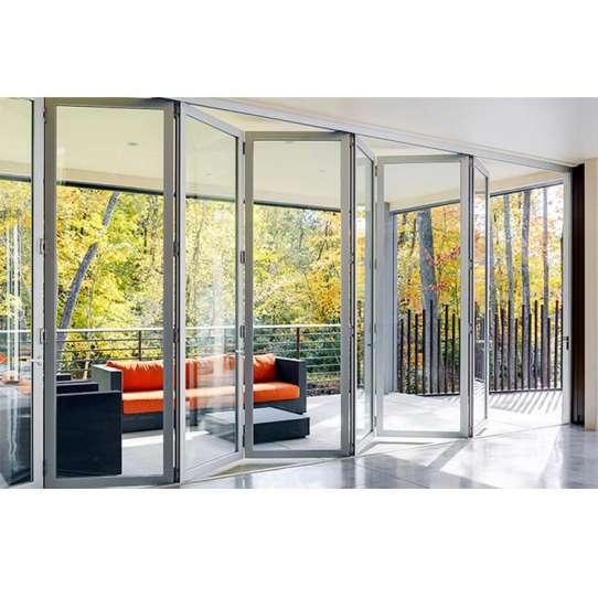 China WDMA Slimline Aluminium Bifold Doors