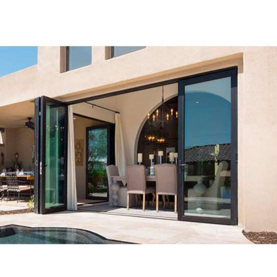 China WDMA Bifold Folding Door