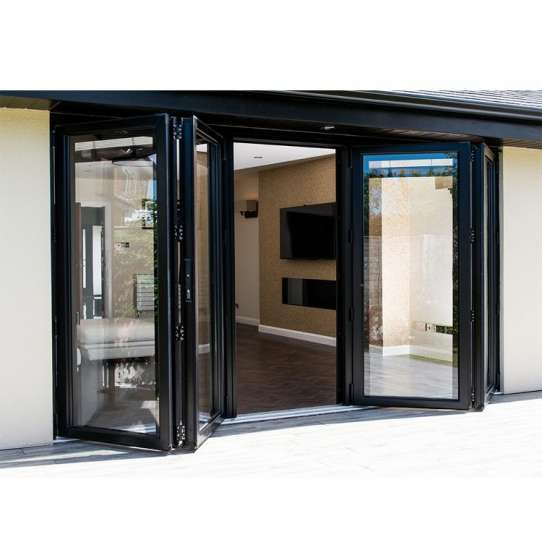 China WDMA Aluminium Bi Folding Door
