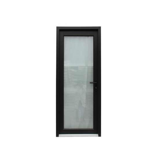 WDMA Bathroom Door With Glass