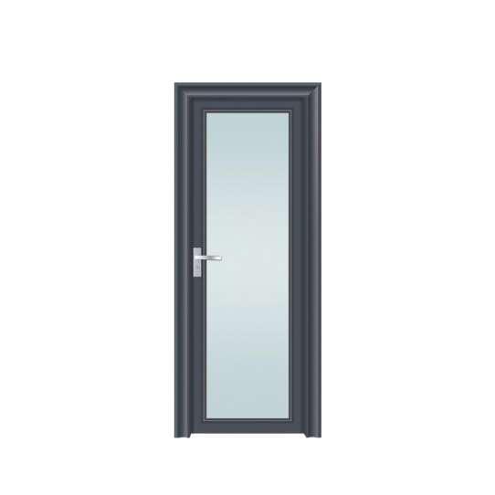 China WDMA Bathroom Door With Glass
