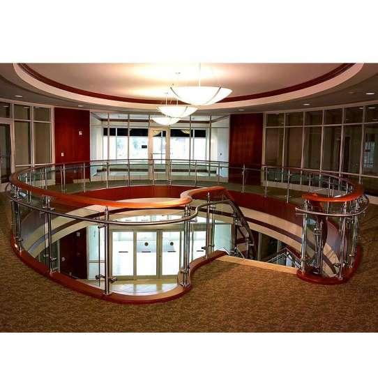 WDMA curved wrought iron balcony railing