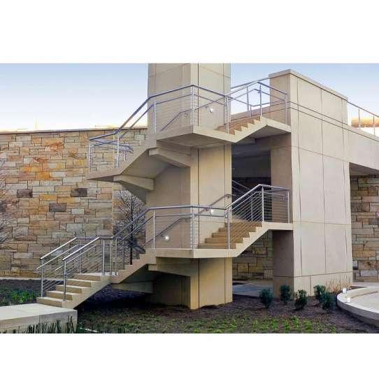 China WDMA curved wrought iron balcony railing