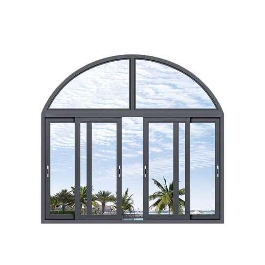 WDMA Powder Coated Aluminum Sliding Window