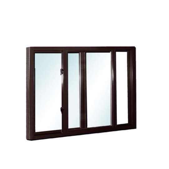 China WDMA Powder Coated Aluminum Sliding Window