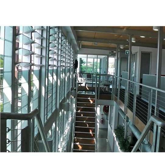 China WDMA Price House German Aluminium Glass Metal Louvre Blade Window Shutter