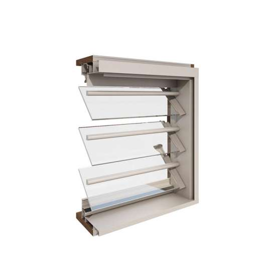 China WDMA Aluminium Window Shutter
