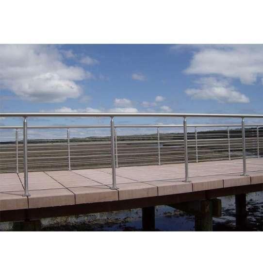WDMA prefab wrought iron stair railing