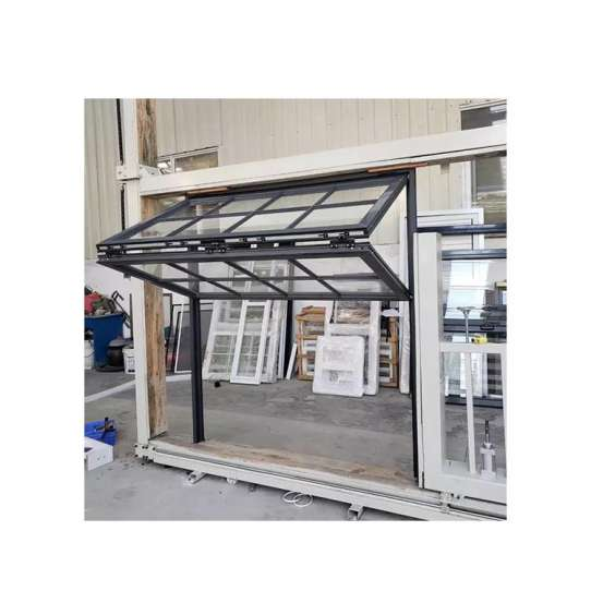 China WDMA Price Of Shop Use American Style Aluminum Double Hung Sash Vertical Sliding Passive Window With Grill Design