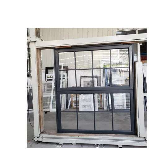 China WDMA Aluminium Vertical Sliding Window
