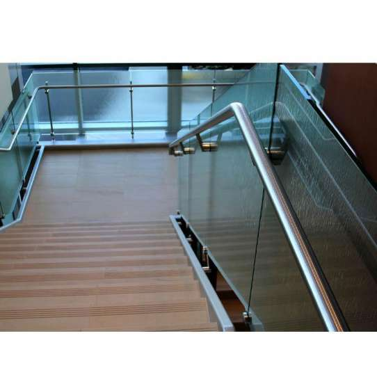WDMA Ready To Be Sent Latest Metal Balcony Tempered Glass Ss Railing Design