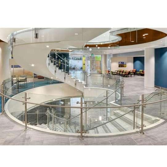 WDMA Balcony Railing Design Glass