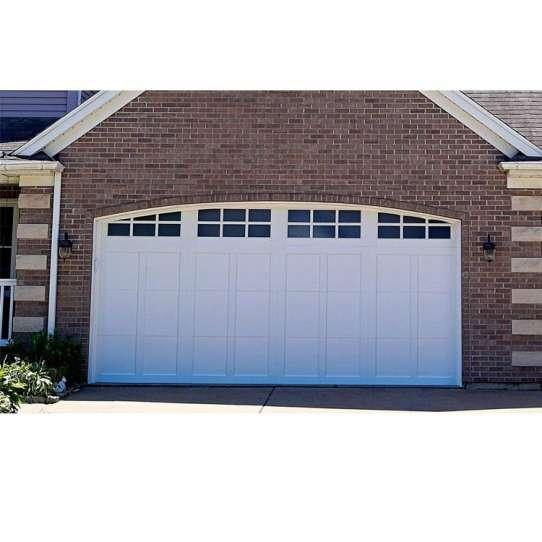 WDMA Remote Control Electric Aluminum Glass Folding Bifold Garage Door For Sale