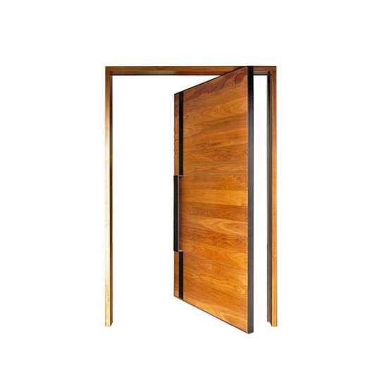 WDMA Residential Custom Pivot Entry Doors Modern Design