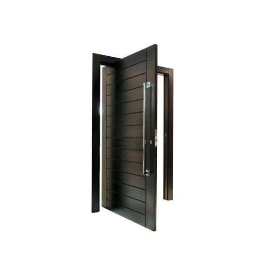 China WDMA Residential Main Exterior Wood Entry Pivot Door Slides