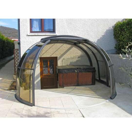 China WDMA Retractable Glass Roofs Sunroom Aluminum Patio Enclosure