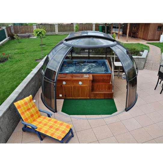 WDMA pool dome cover Aluminum Sunroom