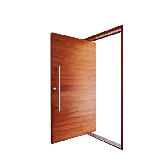 WDMA Shandong Factory 360 Degrees Wood Pivot Door System With Hinges