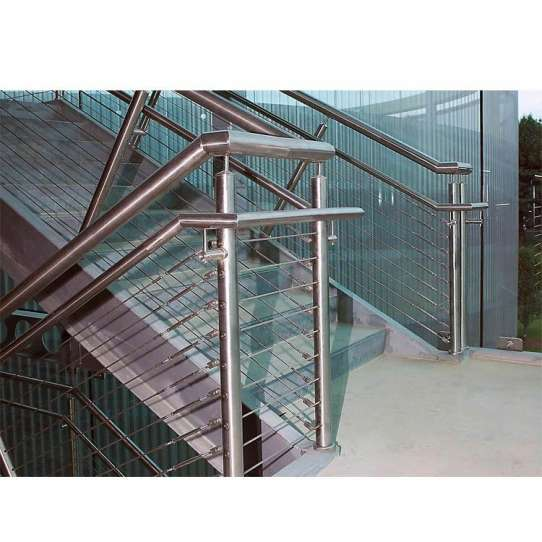 WDMA stair cable railing