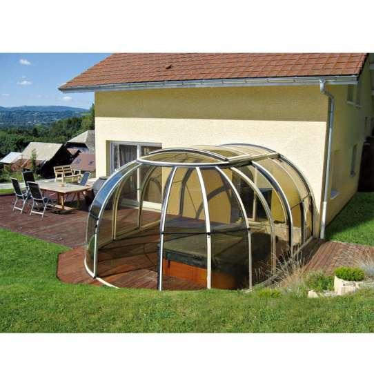 WDMA Hot Tub Cover Spa Dome Enclosure
