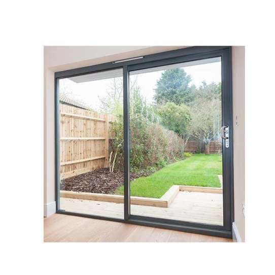 WDMA Frameless Sliding Glass Door