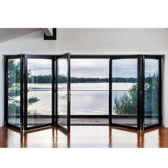 WDMA Aluminum Bi Folding Door
