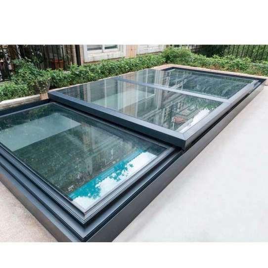 China WDMA Soundproof Electric Skylight House Roof Window