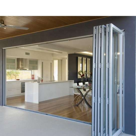 China WDMA Bi Folding Doors